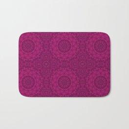 Purple Kaleidoscope. Bath Mat