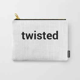 twisted Carry-All Pouch