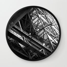 the persistent dream of Pythagoras Wall Clock