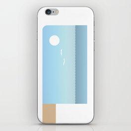 Choppy Waves iPhone Skin