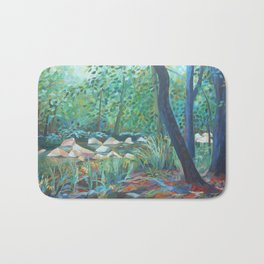 Peace in the Valley Bath Mat
