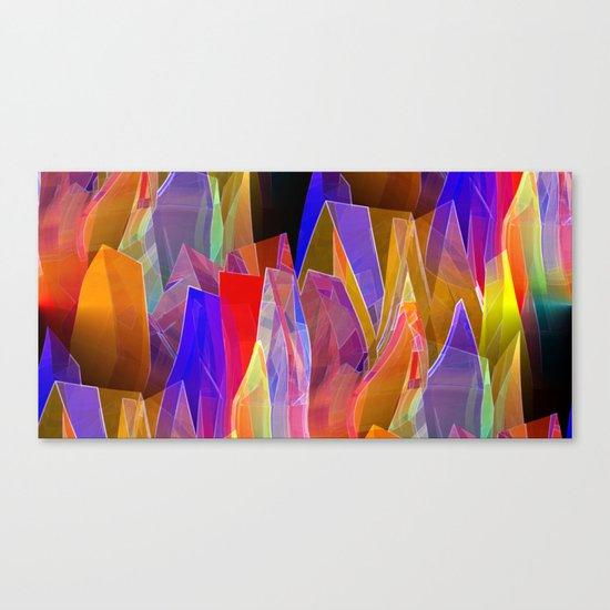 towel full of colors -7- Canvas Print