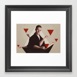 Everything Looks the Same From Up Here Framed Art Print