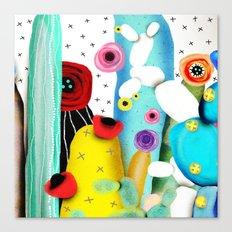 Cactus Mexico Canvas Print