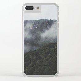 cloudy scapes. Clear iPhone Case