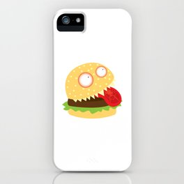 Monster Burger iPhone Case