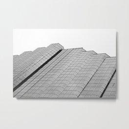Slanted Metal Print
