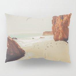 Beach Day - Ocean, Coast - Landscape Nature Photography Pillow Sham