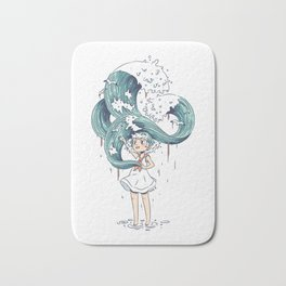Daughter of the Sea Bath Mat