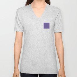 Hue: Ultra Violet Unisex V-Neck