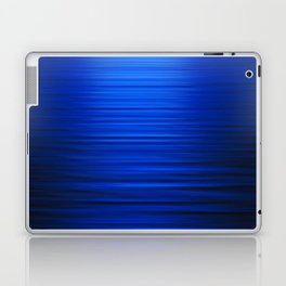Sunset on the Water-Deep Blue Laptop & iPad Skin