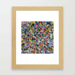 MUNI Mandala Framed Art Print