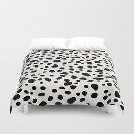Polka Dots Dalmatian Spots Duvet Cover