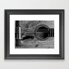 Country Music Framed Art Print