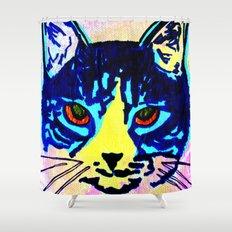 Pop Art Cat No. 2 Shower Curtain