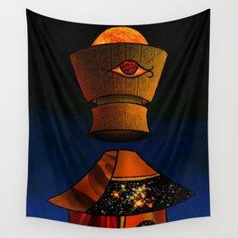 Guzo: King of Rain - Surrealism Collage Wall Tapestry