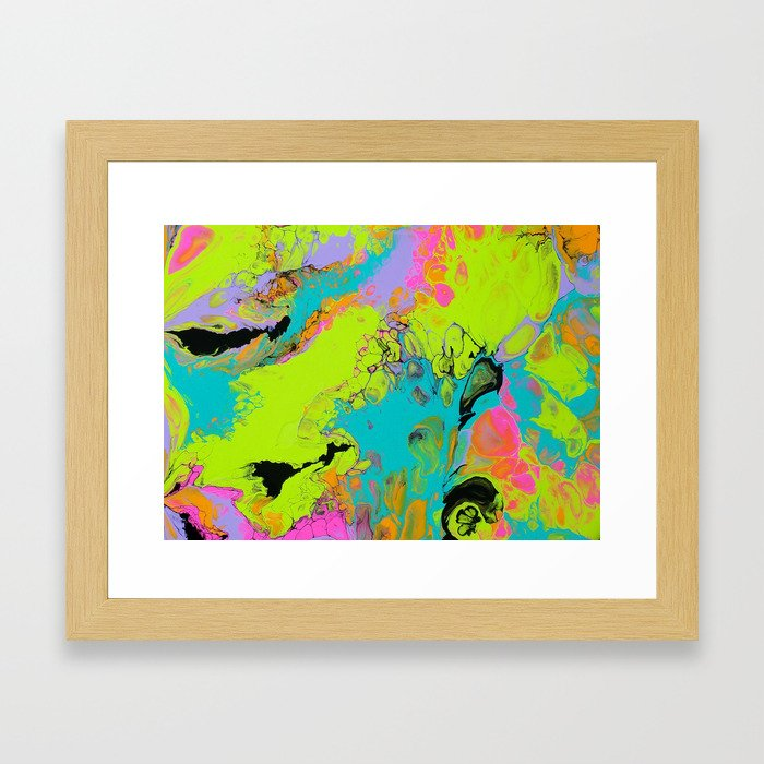 Totally Radical Framed Art Print