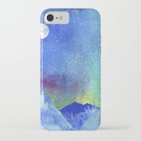 northern lights iPhone & iPod Cases featuring Northern Lights by Ricardo Moody