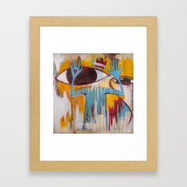 Untitled Eye. Framed Art Print