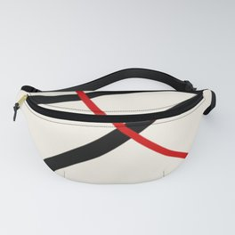 abstract minimal 46 Fanny Pack