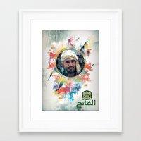 islam Framed Art Prints featuring The 44th : Saif Al-Islam Gaddafi by Galerija