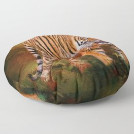Sumatran Tiger Floor Pillow