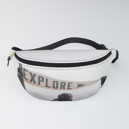 Explore, Travel, Adventure Fanny Pack