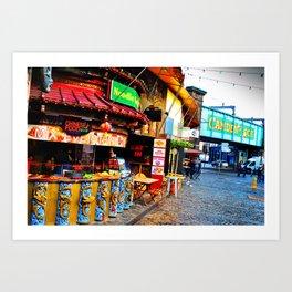 Camden Lock Market London NW1 England Art Print
