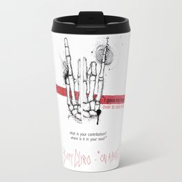 """Biffy Clyro - """"on a bang"""" Travel Mug"""