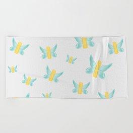 BUTTER-FLY Beach Towel