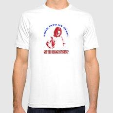 Tshirts 1 Mens Fitted Tee White MEDIUM