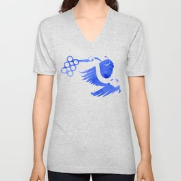 Heron (Keep it clean) Unisex V-Neck