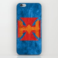 he man iPhone & iPod Skins featuring He-Man by Some_Designs