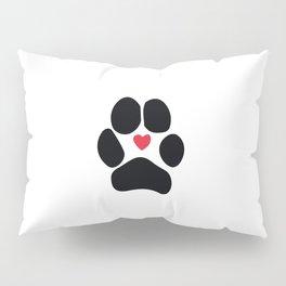 Dog Paw Pillow Sham