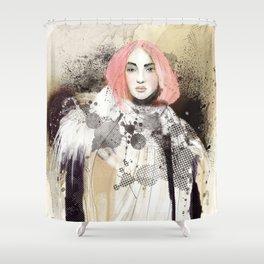 FASHION ILLUSTRATION 13 Shower Curtain