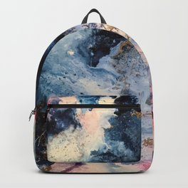Rage - Alcohol Ink Painting Backpack