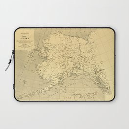 Map of Alaska (1909) Laptop Sleeve