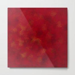 Visaripea - loud red forest Metal Print