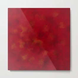 Visaripea - loud red forest Metal Print