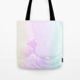 Great Vaporwave Off Kanagawa Tote Bag