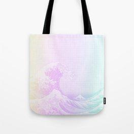 Great Vaporwave Off Kanagawa Tote Bag