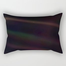Mote of dust, suspended in a sunbeam Rectangular Pillow