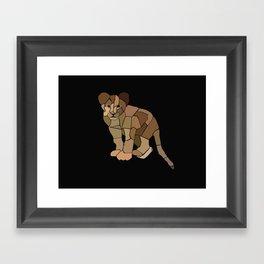 Cuteness. Framed Art Print
