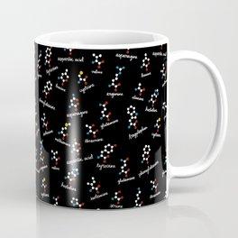 Labeled Amino Acids Coffee Mug
