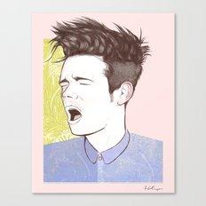 Nate Ruess Canvas Print