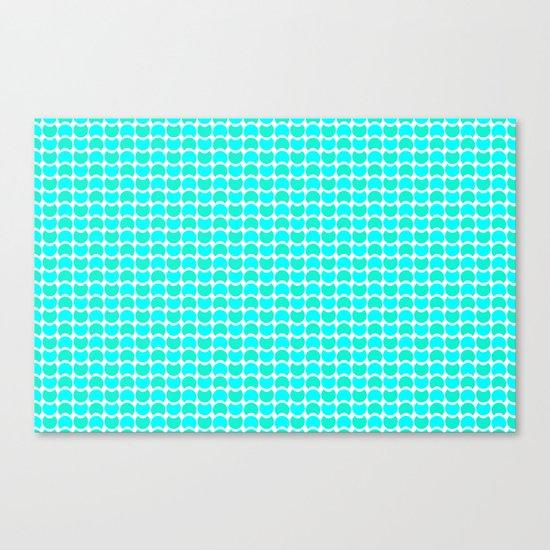 HobNob Sea Small Canvas Print