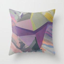Celadon & Primrose  Throw Pillow