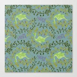 Nessie-Nightshade Canvas Print