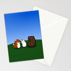 Animal Marshmallow Stationery Cards