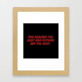 funny sayings and quotes Framed Art Print